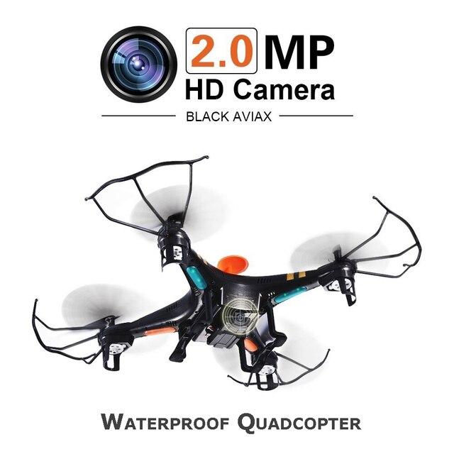 Aviax F2C Quadcopter 6-осевой 2.4 ГГц RC Беспилотный Вертолет с 3D Флип Безголовый режим/2MP HD Камеры/СВЕТОДИОДНЫЕ Фонари/4 Г Sd-карта RTF