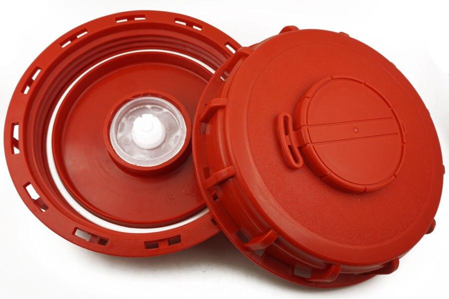 Comprar 2 unids/lote 1000L IBC tanque de agua con ventilación Schutz respiratoria tapa adaptador 150mm de Accesorios de tubería fiable proveedores en liu liu's store