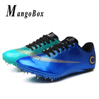 Profession Men Running Spikes For Track Outdoor Unisex Tracking Shoes Kids Boy Track And Field Shoes Designer Track Field Spikes