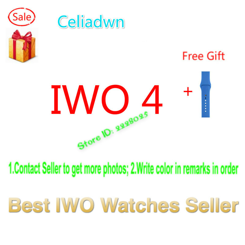 Celiadwn Smart Watch IWO 4 Heart Rate Blood Pressure Smartwatch IWO 1 42mm Version Bluetooth Clock For iOS Android VS IWO 3 new bluetooth smart watch 42mm iwo smart watch generation smartwatch for ios apple iphone samsung huawei xiaomi android phone