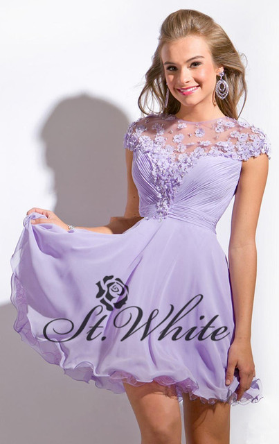 Fashion Semi Formal Dress 8th Grade Graduation Dresses 2014 Vestido