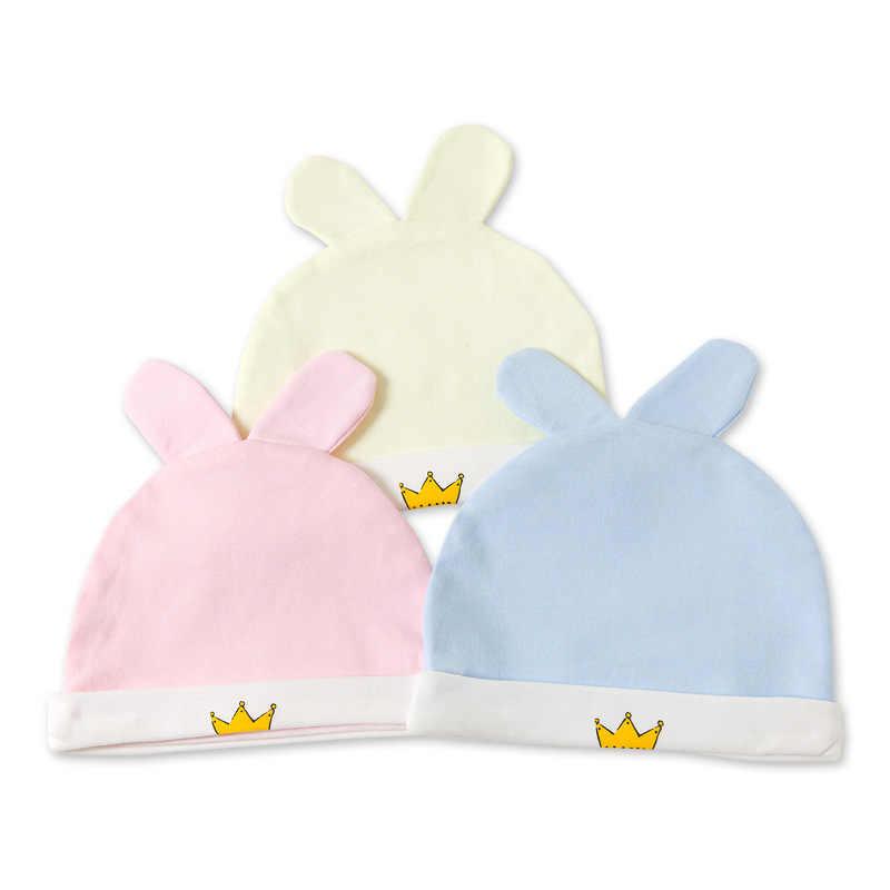 หมวกเด็กหมวกเด็กทารกหมวกฤดูใบไม้ผลิฤดูใบไม้ร่วงฤดูหนาวหมวกเด็กฝ้าย 0-9 เดือน