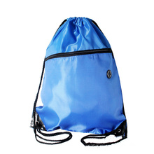 5 Colors Portable Waterproof Nylon Shoe Bags Drawstring Dust Backpacks Storage Pouch Outdoor Travel