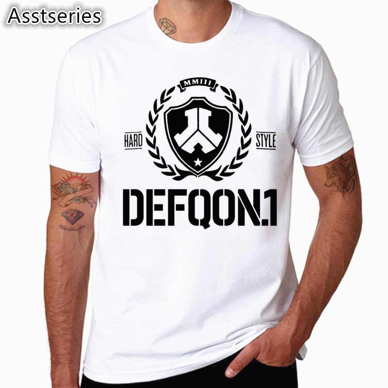 Defqon 1 純粋なデザイナー Tシャツメンズ Tシャツヒップホップメンズ半袖 Tシャツファッションカジュアル Tシャツ HCP4554