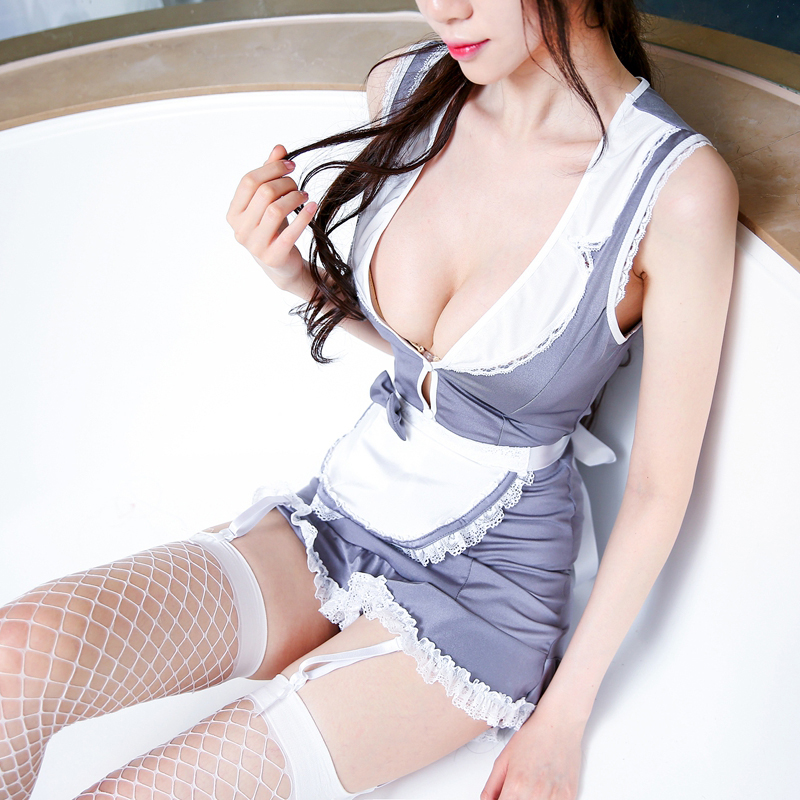 Special Offer Woman Sexy Housemaid Costume Aprong