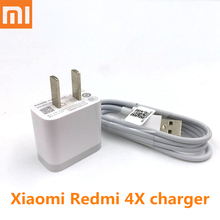 Original XIAOMI Redmi 4X Charger , 5V/2A usb wall Charge Adapter + Micro USB cable For xiaomi MI 1 2 3 4 redmi note 2 3 4 4x
