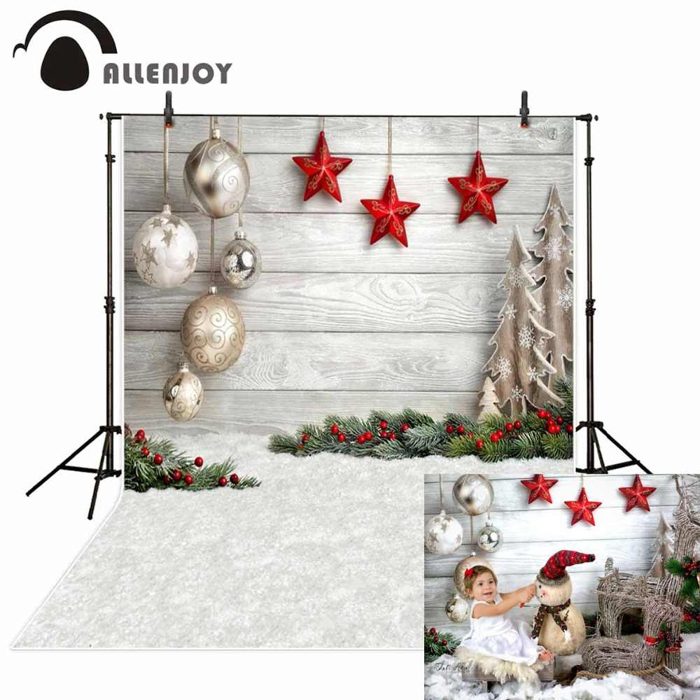AOFOTO 5x3ft Fantasy Christmas Snowman Backdrop Bauble Snowflake Starry Photography Background Wallpaper Festival Celebration Photo Booth Props