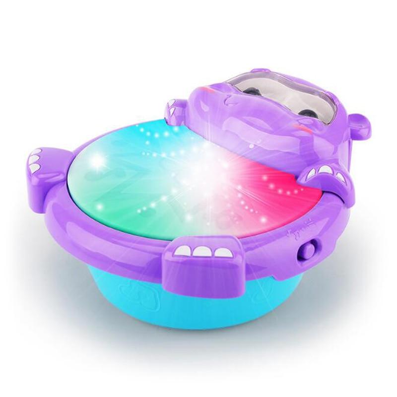 1 Pc Elektrische Musik Licht Hand Klopfte Trommeln Diy Baby Pädagogisches Spielzeug Für Kinder Früh Kind Spiel Geschenke Musical Instruments 2019 Reisen