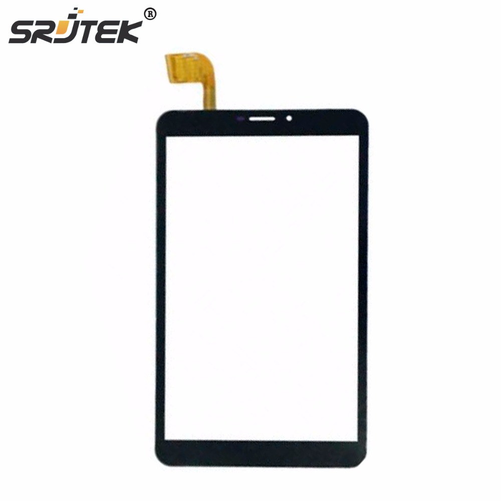 Srjtek For Vonino Pluri Q8 Touch Screen 8 Inch Black New Touch Screen Panel Digitizer Sensor Repair Parts Replacement 7 inch tablet screen for dp070211 f1 touch screen digitizer sensor glass touch panel replacement parts high quality black