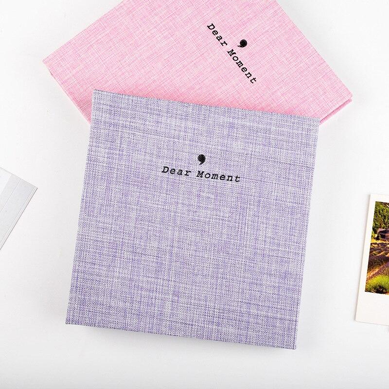100 Bolsos Livro Álbum de fotos para Fujifilm Instax instantânea Mini 9 8 7s 70 25 50s 90 Mini Filmes 3 polegada papel Fotográfico