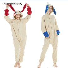 Kigurumi Adult Pyjamas Unicorn Unisex Cosplay Costume shark rabbit Pikachu Pajamas Costumes Sleepsuit Sleepwear