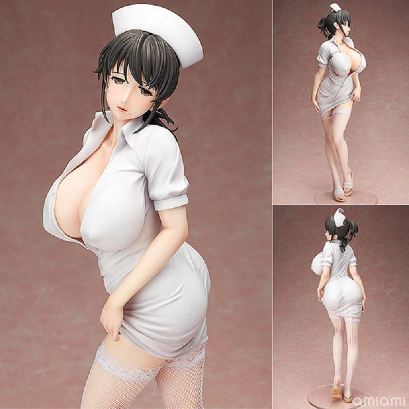 Toys & Hobbies Anime Nurse Death Penalty Hospital Freeing Akawa Asami 42cm 1/4 Model Pvc Collectible Sexy Action Figure Mami Akabane Adult Doll