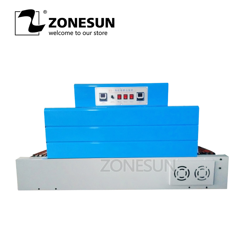 ZONESUN sealing machine automatic shrink wrapping machine film packaging machine tableware shrink film machineZONESUN sealing machine automatic shrink wrapping machine film packaging machine tableware shrink film machine