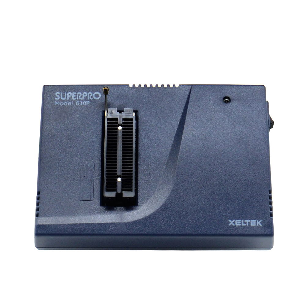 Fast SHIPPING Newest Xeltek Original Superpro 610P Highspeed Device USB Universal IC Chip Programmer + 13pcs burn block Adapters