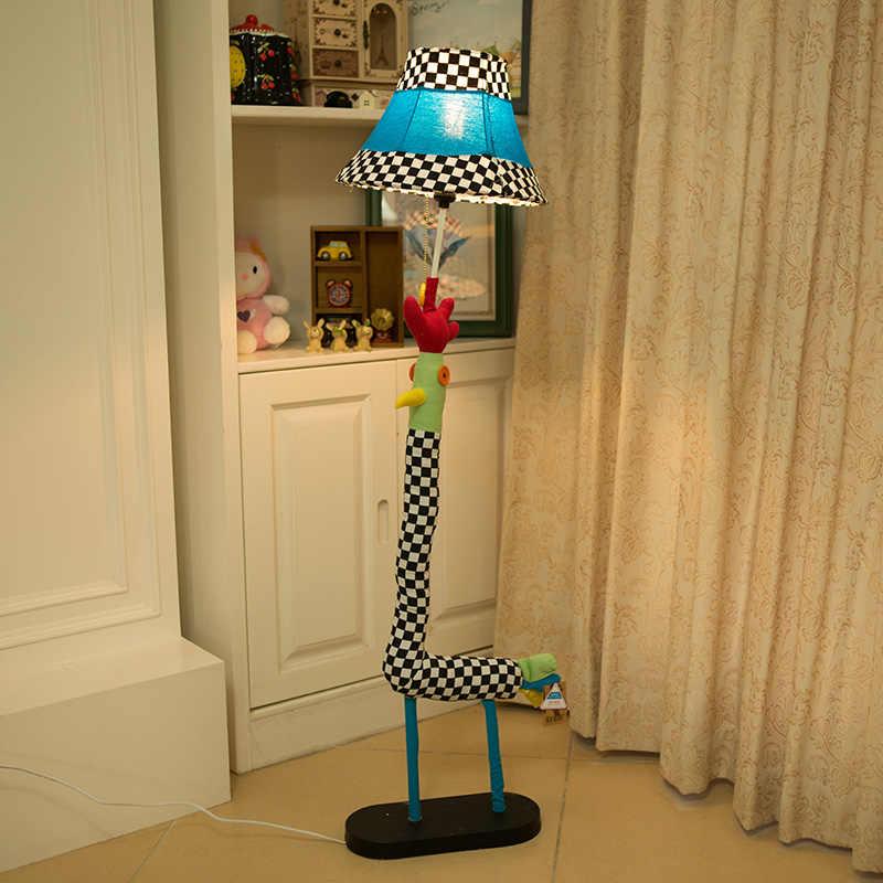 Мультяшный светильник спальня гостиная торшер решетки курица подарки для детей