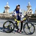KUBEEN mountainbike 26-zoll stahl 21-speed fahrräder dual disc bremsen variable speed straße bikes racing fahrrad