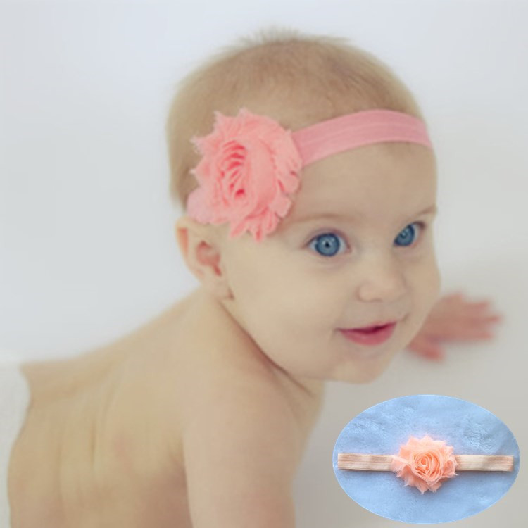 Retail   Chiffon Flower Headband  Kids shabby flower headwear girls Hair Accessories for Photo Props 10pcs lot high quality chiffon flower hairband headband alice band for kids girls handmade headband children hair accessories