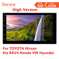 Seicane Android 8.1 2Din Universal Car Radio 2GB RAM+32GB ROM GPS Multimedia Player For TOYOTA Nissan Kia RAV4 Honda VW Hyundai