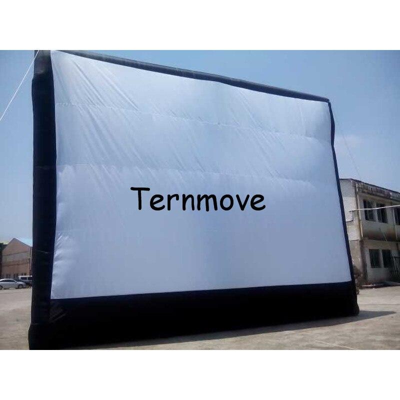 Надувной экран, рекламный экран es гигантский надувной фильм экран es, надувной экран для использования на открытом воздухе