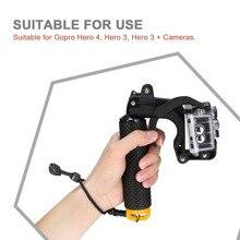 Float Shutter Stabilizer Section Pistol Trigger Set Floating Handle For Go Pro Hero 5 4 3+ 3 Xiaomi Yi 4k SJCAM Accessories