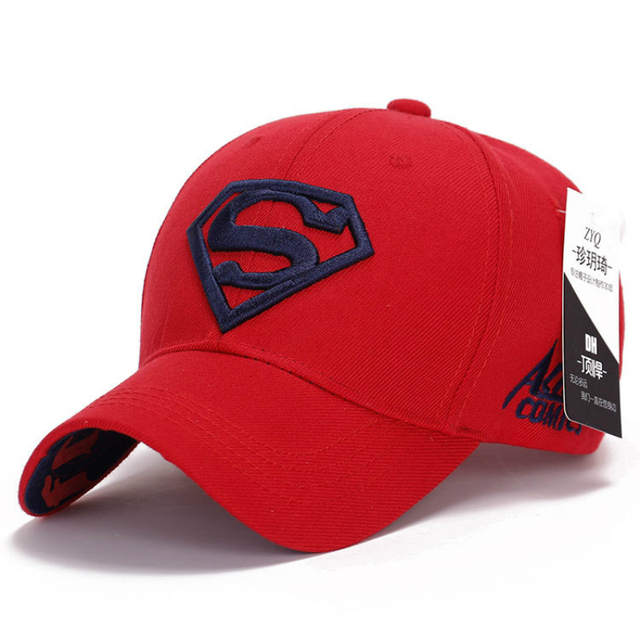 a065327cd40 Outdoor Sports Caps Adult Springsummer Cap Hats Cotton Casual Adjustable  Unisex Golf Super Man American Football