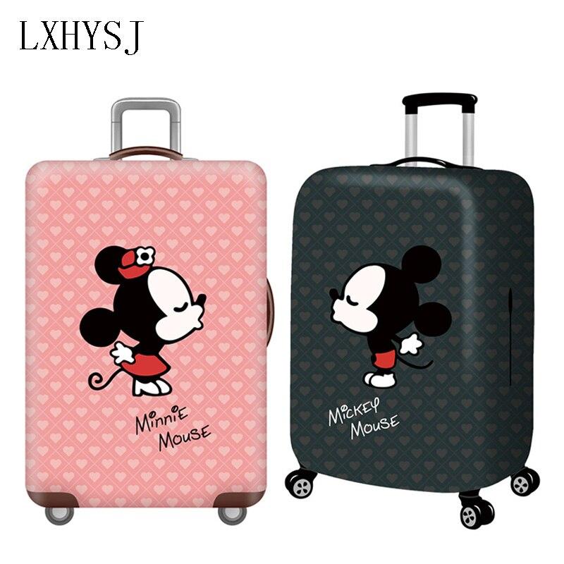 c0b9e953d534 Толстый багажный Чехол Дорожный чемодан защитный чехол подходит для 18-32  дюймов тележка эластичный пылезащитный чехол дорожные аксессуары