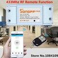 Casa inteligente ITEAD Sonoff RF-WiFi 433 Mhz Remoto Inalámbrico Interruptor Inteligente Común Piezas de Modificación con 433 Mhz RF receptor para Lámparas