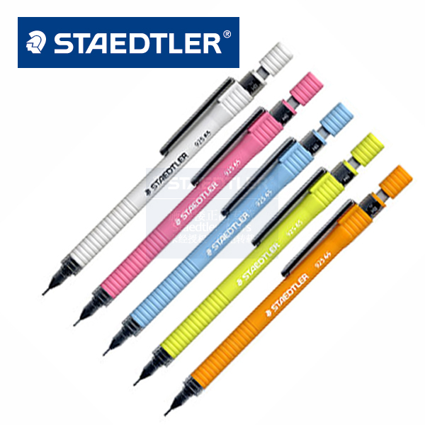 Staedtler 925 65 professional mechanical pencil silver grey candy color 5pcs/lot