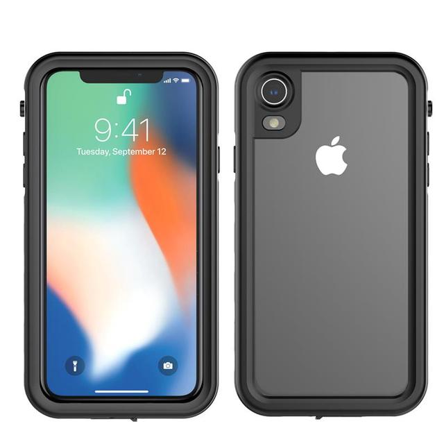 new style 9fb29 3f359 US $13.99 35% OFF|For iPhone Xs Max/Xr Dustproof Phone Case 360 Degree  Protection Shockproof phone cover for iPhone Xr/Xs Max Waterproof cases-in  ...