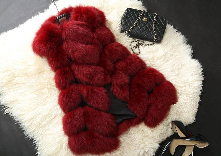 Fox noir En Cultiver Manteau Nouveau Moralité Mode Peau Loisirs blanc Fourrure La De rose Femmes Cape Sa D'hiver Manteaux Veste bleu Rouge Rz0xqSzC