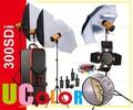 1200 Вт фотографии студия флэш-строба свет комплект 4 x 300 Вт Godox SDi300 освещение