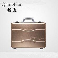 Полностью алюминиевый Магниевый сплав чемодан-тележка для мужчин чемодан Водонепроницаемый Чехол чемодан для инструментов