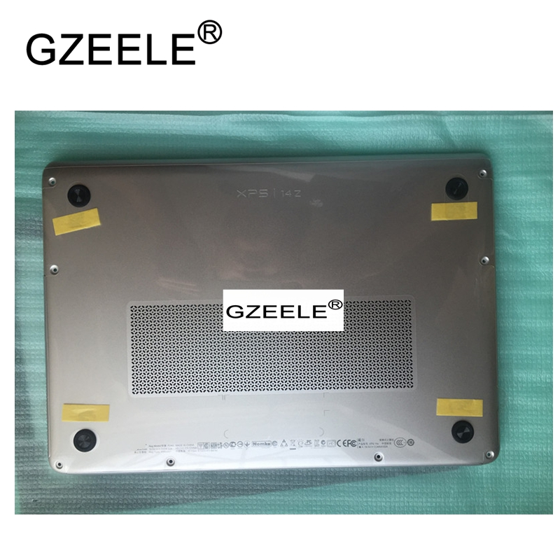 GZEELE New For DELL XPS 14Z L412Z 14z-L412z Laptop bottom base case lower cover Assembly 888YR 0888YR silver gzeele new laptop bottom base case cover for dell xps 15 l501x l502x series lower case pn 70fm3 070fm3 assembly silver
