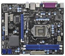 H61m-ps motherboard h61 lga 1155 lpt interface belt pci com gigabit board