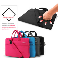 12 11 Inch Big Size Nylon Computer Laptop Solid Notebook Laptop Tablet Bag Bags Case Messenger