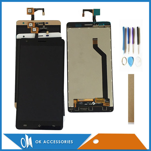 Original Quality 5.5 Inch For Cubot H2 LCD Display With Touch Screen Digitizer With Frame With Tools Tape