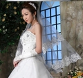 Free Shipping, New Double Wedding Veil the Bridal Veil Without Comb Lace Promotion Price Drop Shipping,