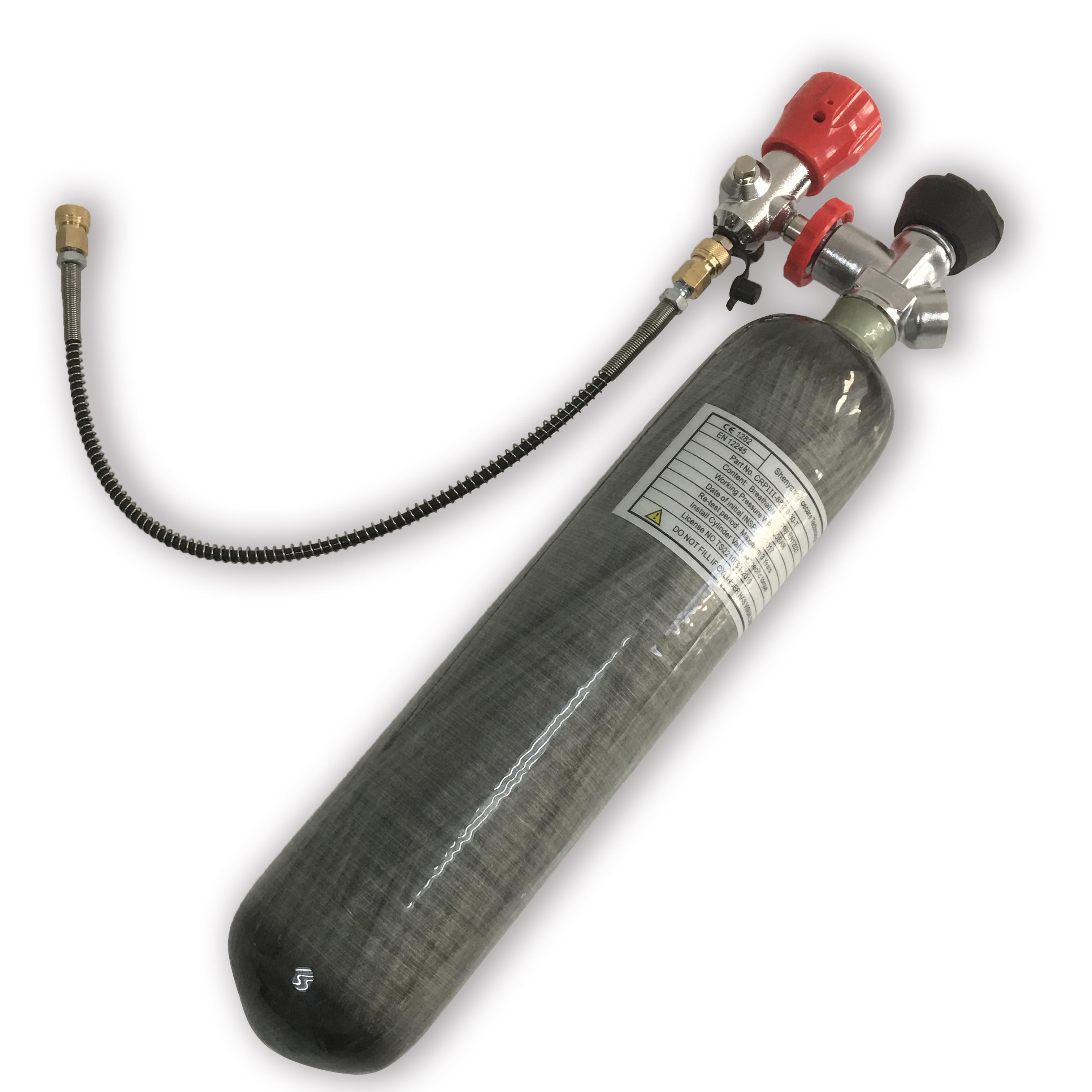 AC102101 Hpa Mini Scuba Diving 2L Air Rifle Gun Hunting Co2 Paintballing Pcp Condor Airgun Air Compressed Breathing Apparatus