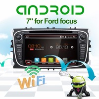 Black Siliver Two Din 7 Inch Android Car DVD Player For FORD Mondeo S MAX Connect