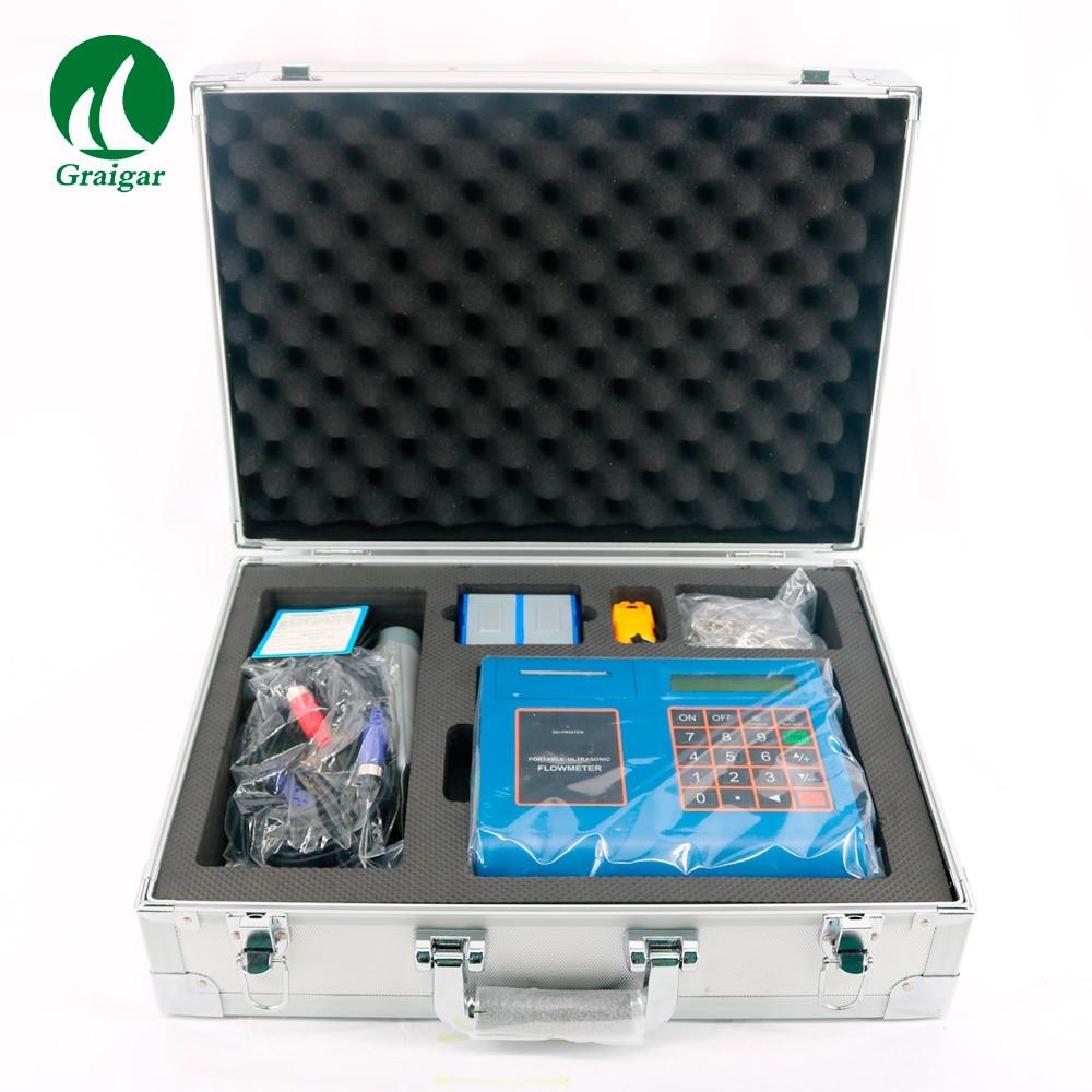 New TUF 2000P Ultrasonic Liquid Flowmeter with TM 1 Standard Transducer Digital Flow Meter DN50 DN700mm