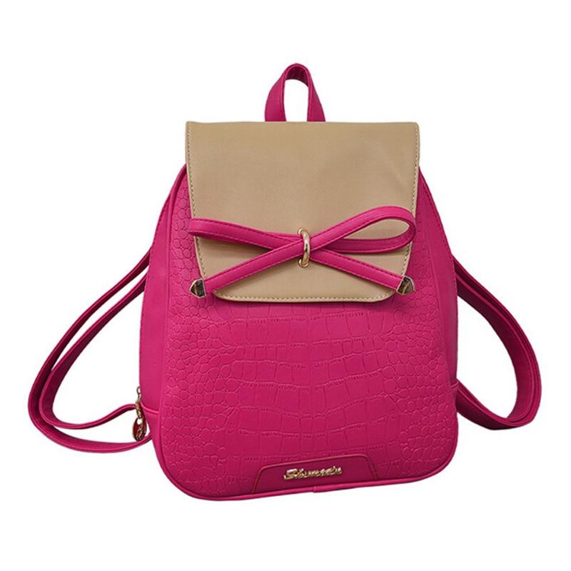 vsen nova mochila de couro Estilo : Fresh