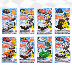 Image 1 - 반다이 voov 변형 구조 경찰 트랜스 포터 엔지니어링 플라스틱 모델 차량 장난감 자동차 어린이 선물 새로운