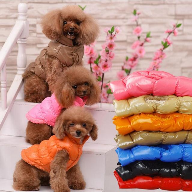 Caldo Vestiti Del Cane Inverno Interno In Pile Bulldog Cucciolo Dell'animale Dom