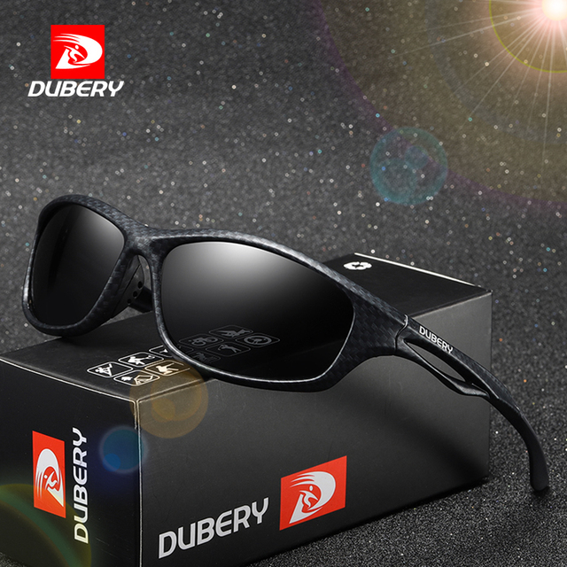 5c7909a25 Óculos De Sol Dos Homens Polarizados DUBERY 2018 Brand New Esporte UV400  Retro Alta Qualidade HD