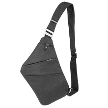 New Osoce Men Nylon Crossbody Shoulder Chest Thin Sling Casual Bag
