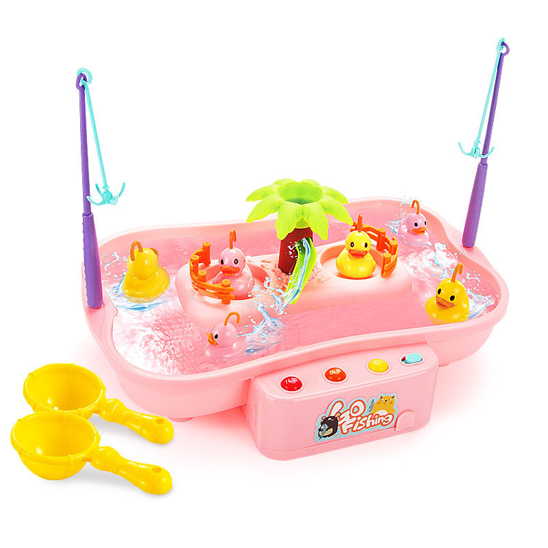 Clearance SaleFishing-Toys Coordination-Toys Fish-Game Plastic Kids for Rotating Parent-Child Interactive-Table-Games