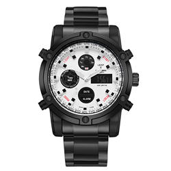 Для мужчин Smart Dual дисплей модные часы для мужчин часы лучший бренд класса люкс мужской часы для мужчин s наручные часы Hodinky Relogio Masculino