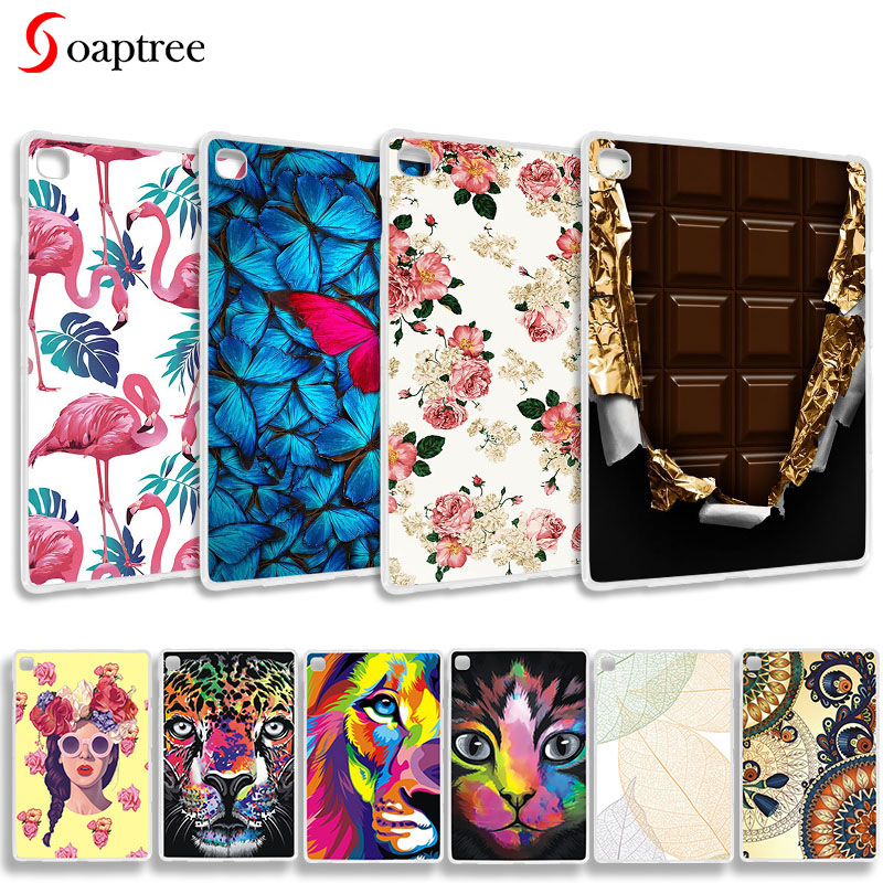 Painted Case For Samsung Galaxy Tab S5E 2019 SM-T720 SM-T725 Cases Galaxy tab S5E 10.5 Soft Silicone TPU Back Tablet Cover image