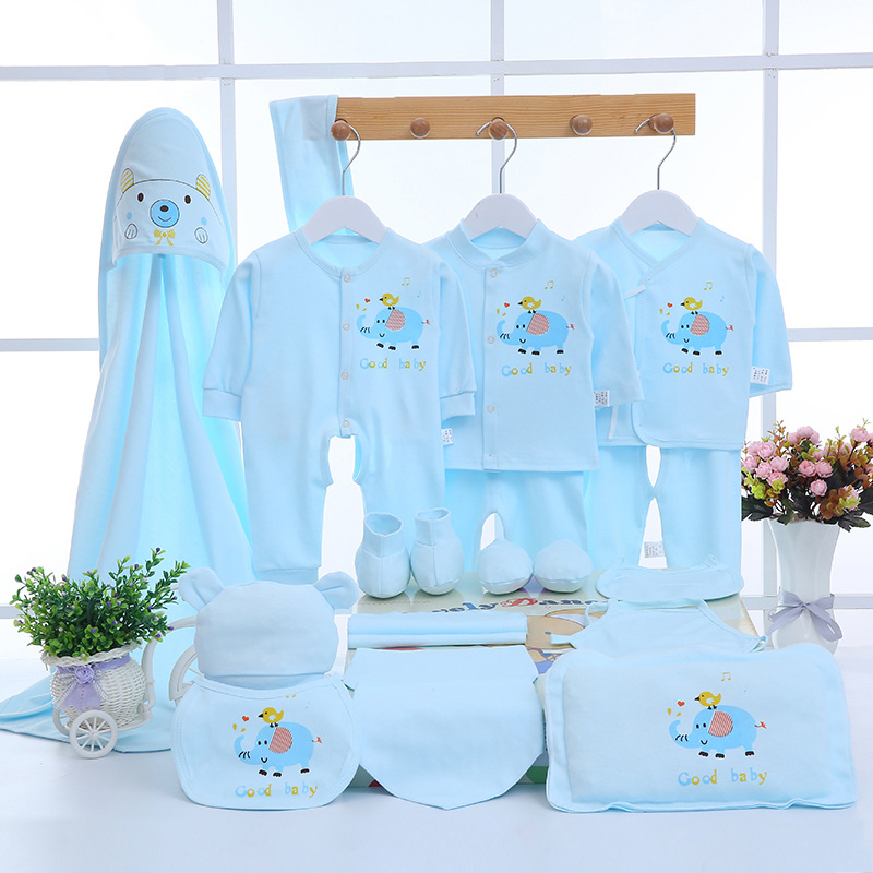 Emotion Moms Newborn baby clothing sets baby girls boys clothes new Brand baby gift infant cotton Cartoon without box 20PCS/Set emotion moms newborn baby set 0 3m infant clothing suit cotton newborn baby boy girl clothes winter autumn without box 22pcs set