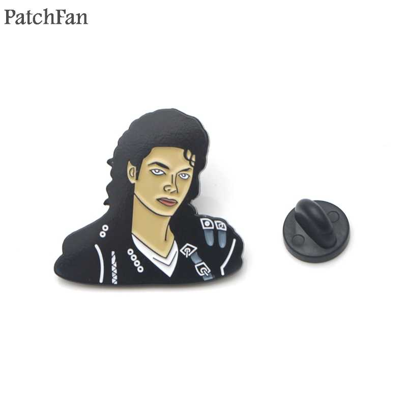 Patchfan 90s Metal Zinc Enamel pins Trendy medal para backpack shirt clothes bag brooches badges for men women A1786